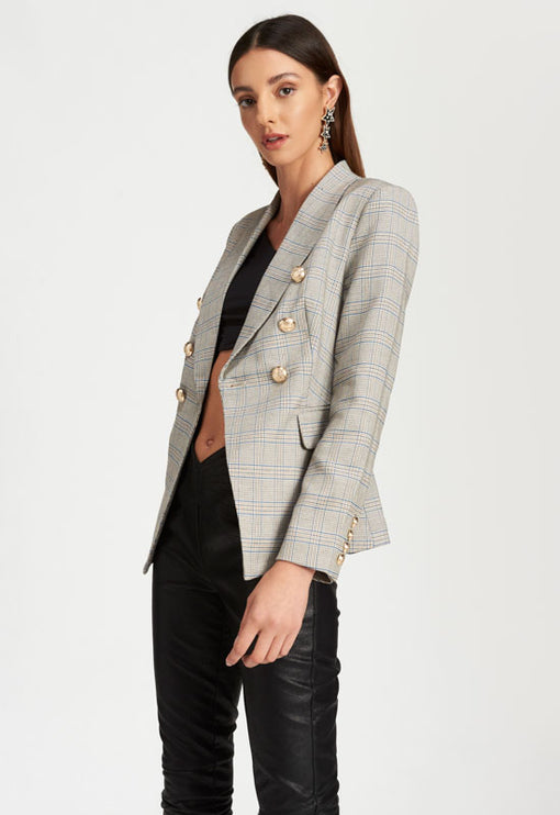 The Blair Blazer - CHECK