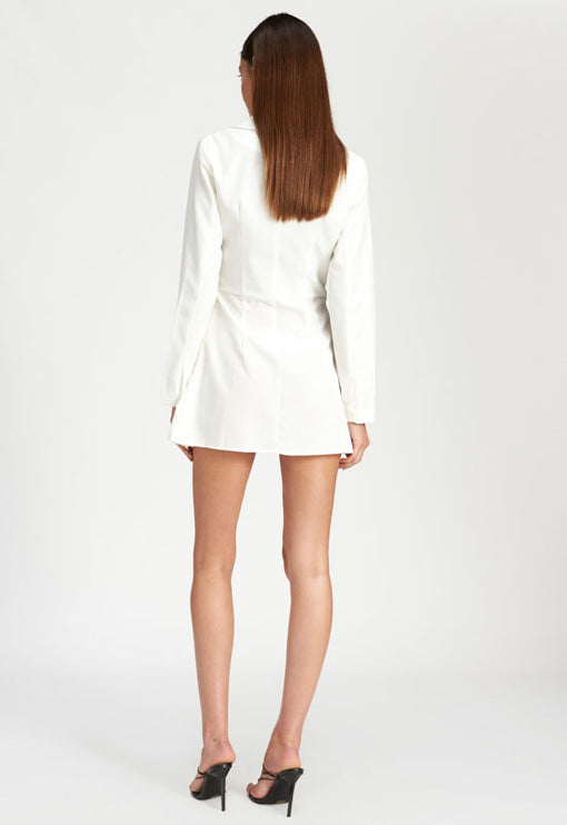 Lush Life Mini Dress - WHITE