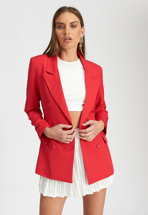 The Don Coat - RED