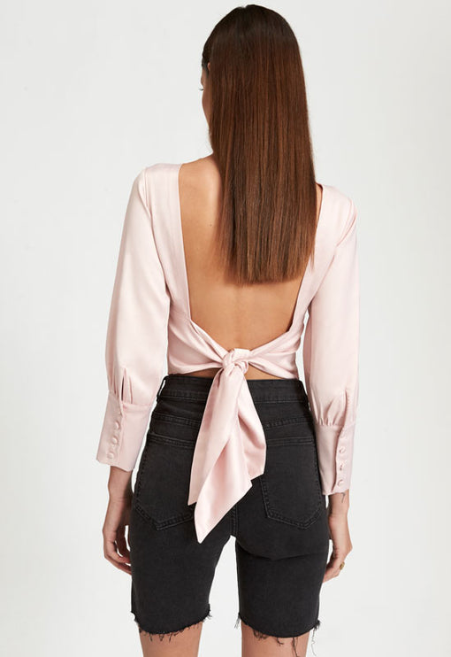 Dance And Chant Top - BLUSH