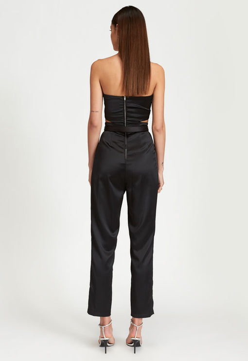 Kiss And Make Up Jumpsuit - BLACK