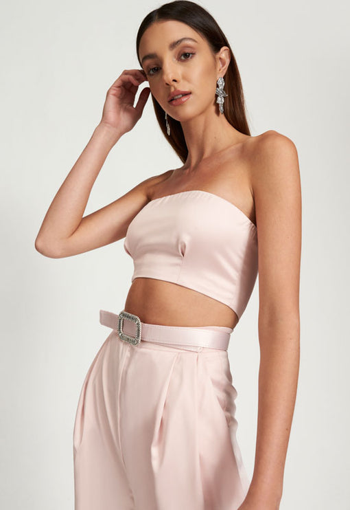 Kiss And Make Up Jumpsuit - BLUSH
