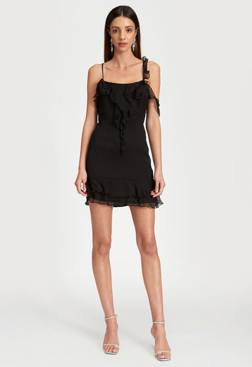 Pasadena Mini Dress - BLACK