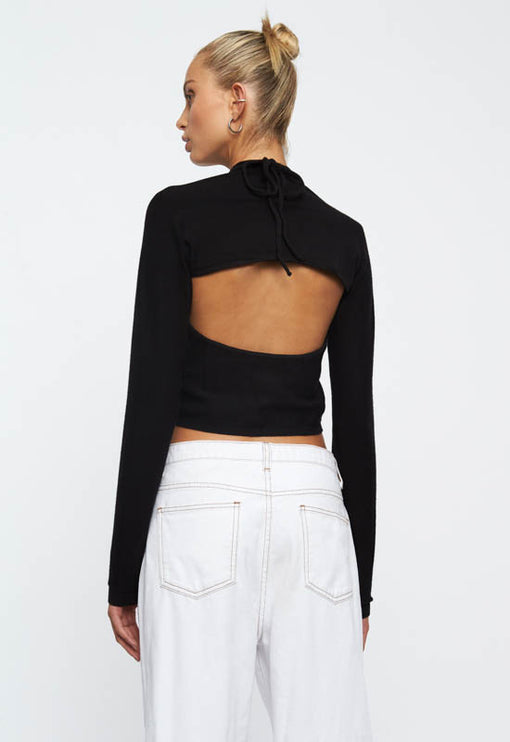 Heavenly Sent Top - BLACK