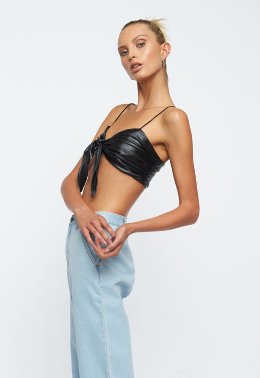 Lula Crop Top - BLACK