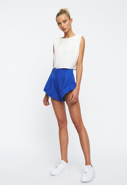 In Bloom Mini Short - BLUE