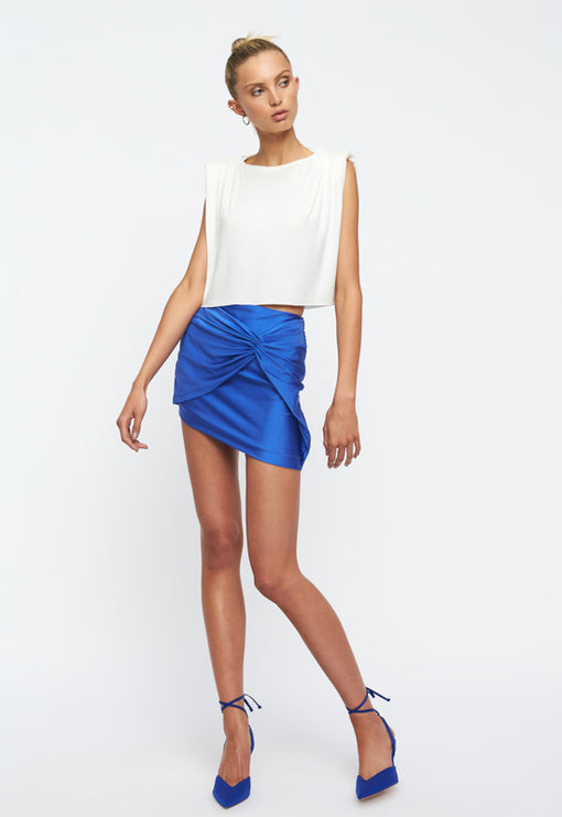 Marmont Mini Skirt - COBALT