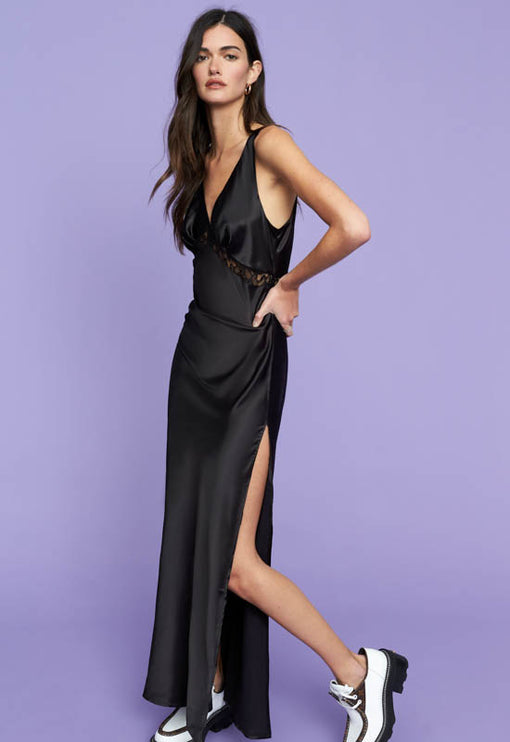 Dakota Maxi Dress - BLACK