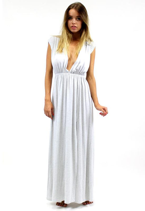 Grecian Dream Maxi - GREY