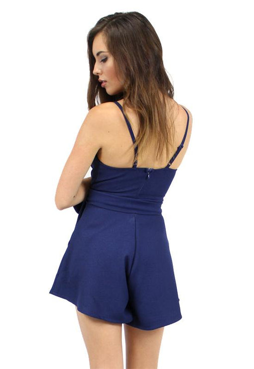 Now & Then Playsuit - NAVY