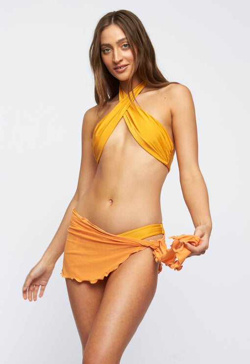 The Bella Cover Up  - ORANGE