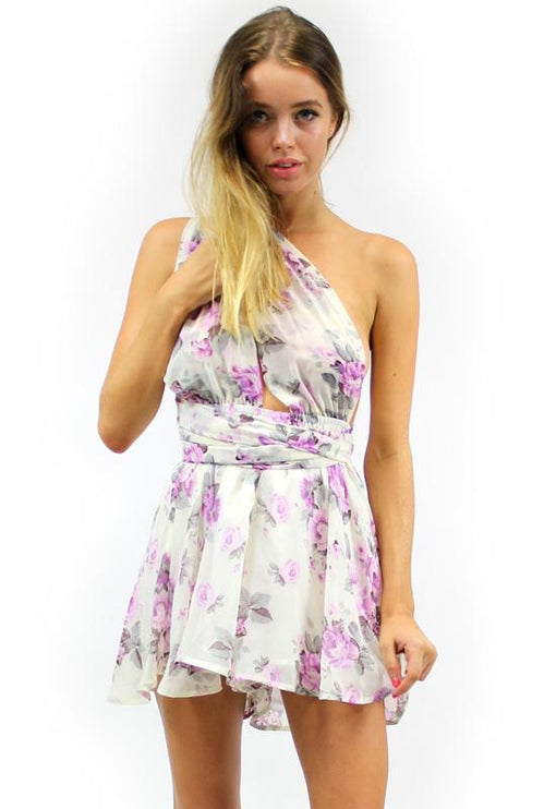 Multiway Playsuit - LILAC FLORAL