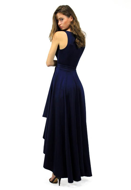 Best Revenge Wrap Dress - NAVY