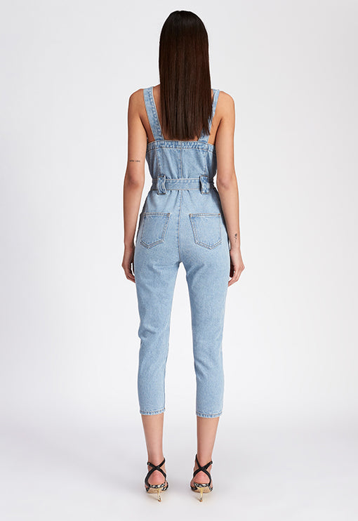 The Tatum Jumpsuit - DENIM BLUE