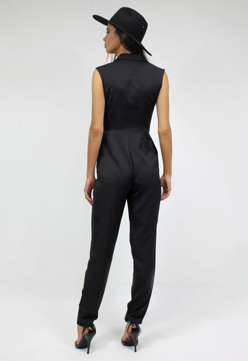 New World Jumpsuit - BLACK