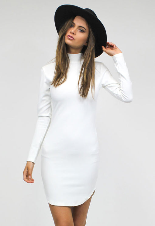 Edie Sedgwick Dress - WHITE