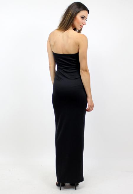 I Need You Formal Dress - BLACK