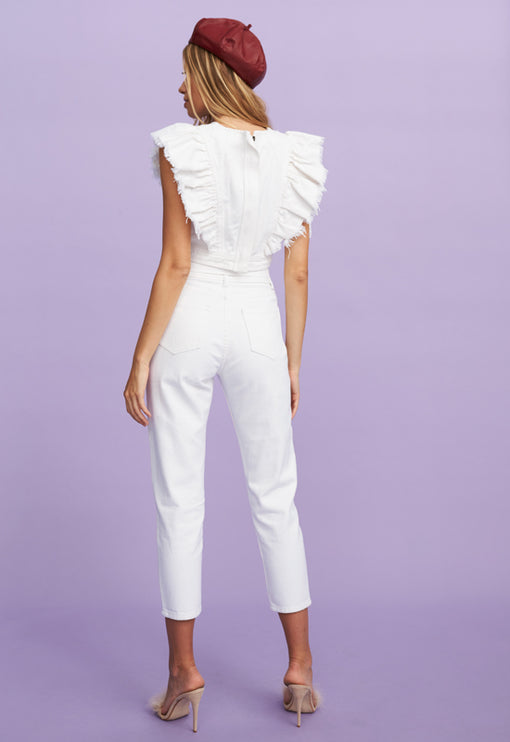 The Isla Top - STARK WHITE
