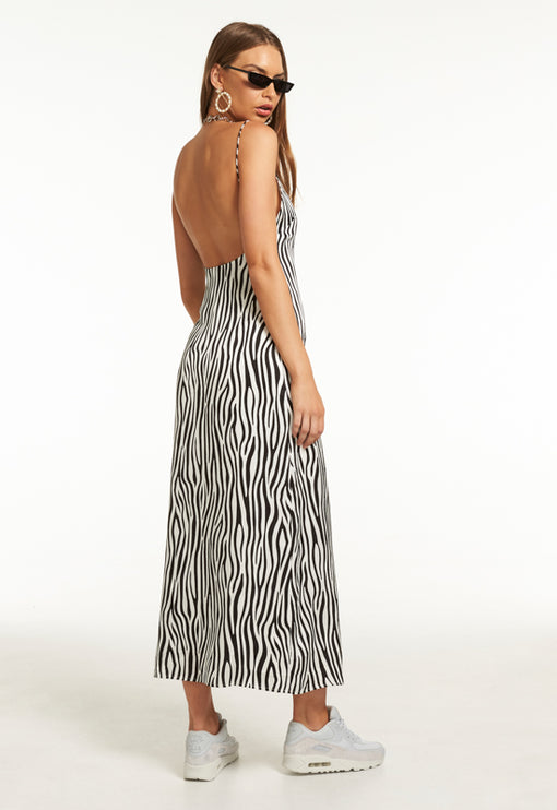 Easy Does It Maxi Dress - ZEBRA