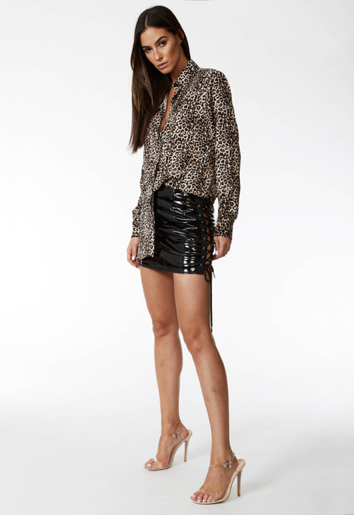 Cruel Intentions Mini Skirt - BLACK