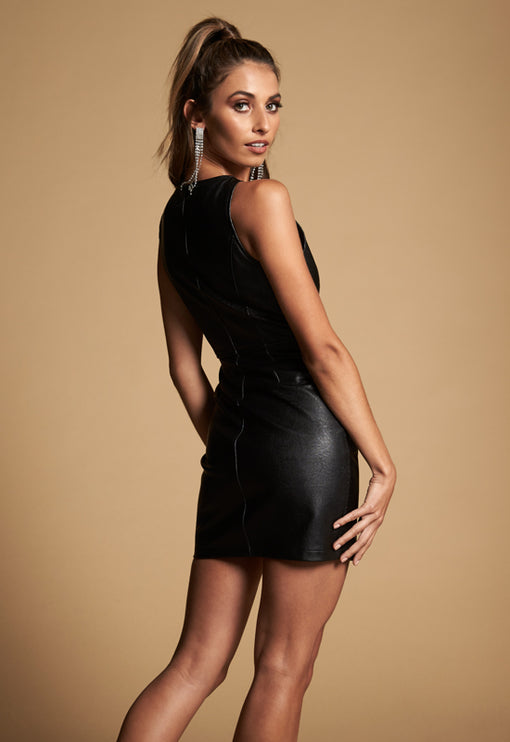 The Mary Jane Dress - BLACK