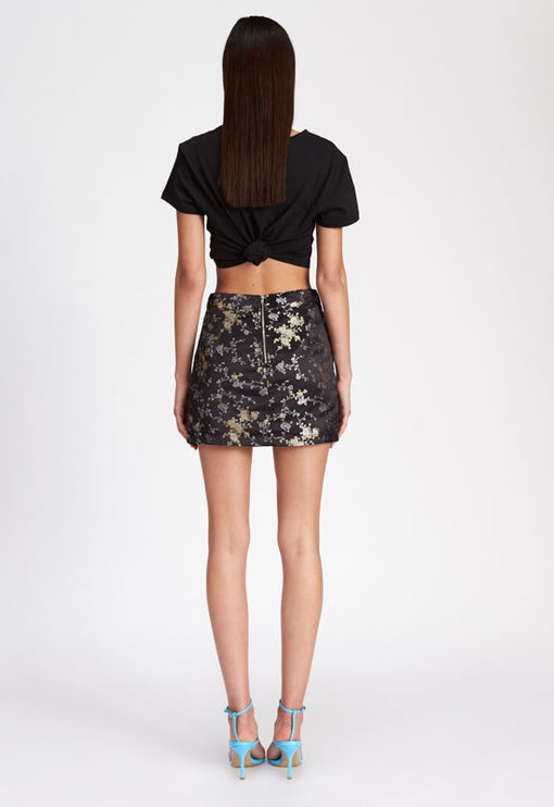 The Lola Mini Skirt - BLACK
