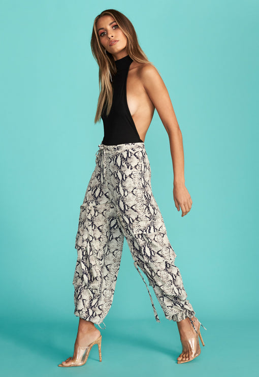 The Firenze Pant - SNAKE PRINT