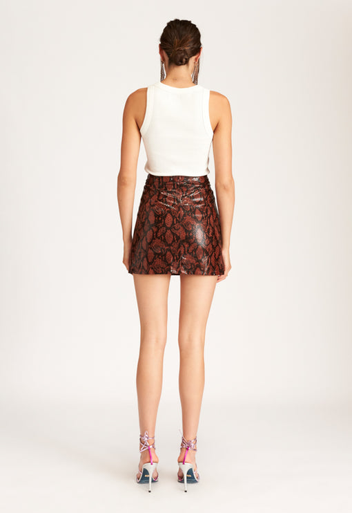 Dangerous Mini Skirt - PYTHON