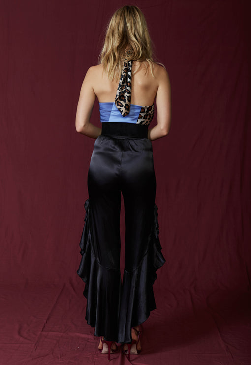 Old Hollywood Flare Pant - BLACK