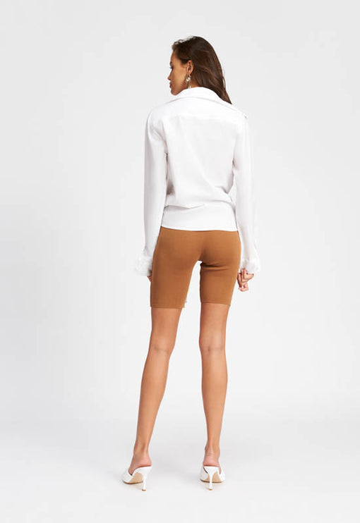 Fall In Line Bike Shorts - CAMEL