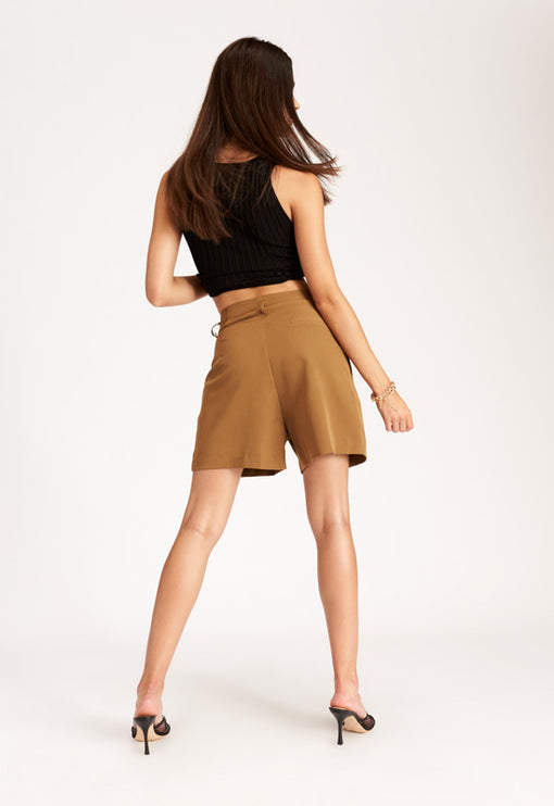 Miss Arizona Shorts – CAMEL