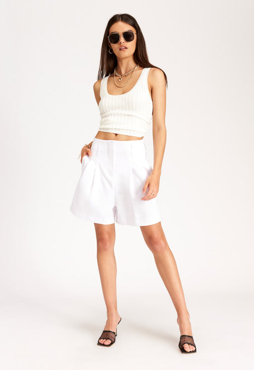 Miss Arizona Shorts – WHITE