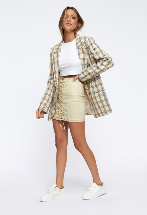 The West Village Blazer - TAN