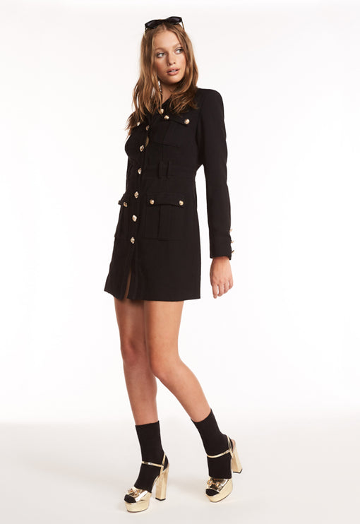 The Buckingham Coat - BLACK