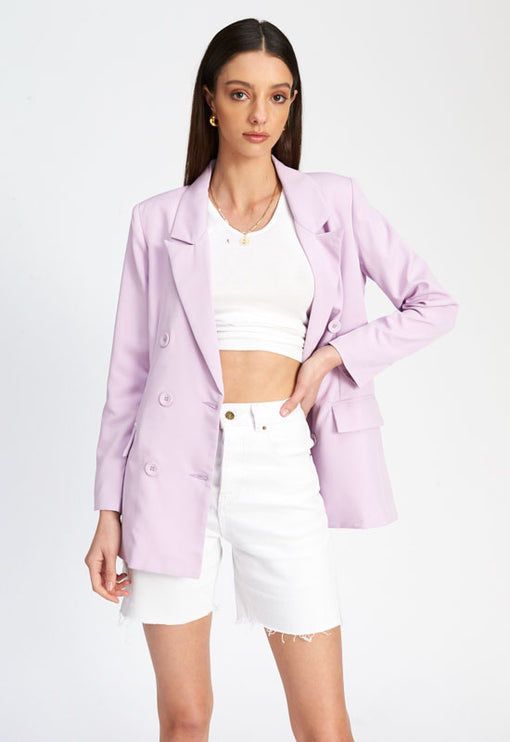 The Don Coat - LILAC