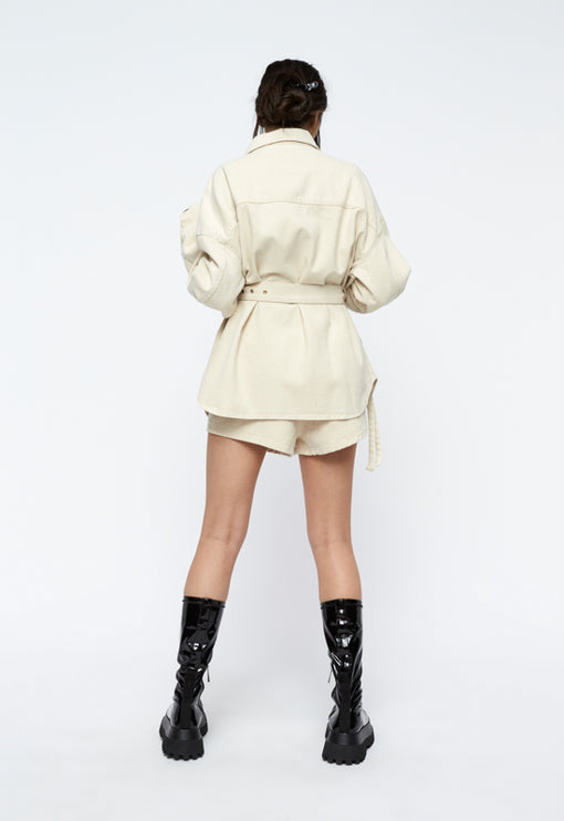 The Highline Jacket - ECRU