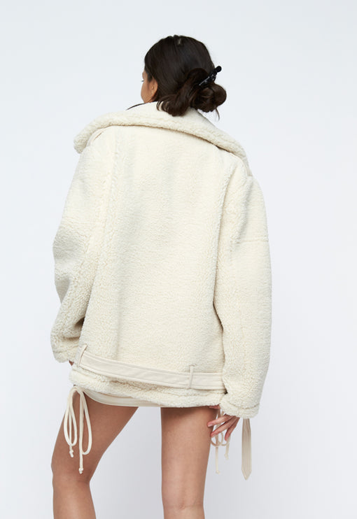 PRE-ORDER: On The Road Jacket - CREAM