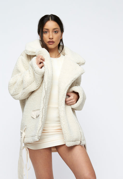 On The Road Jacket - CREAM
