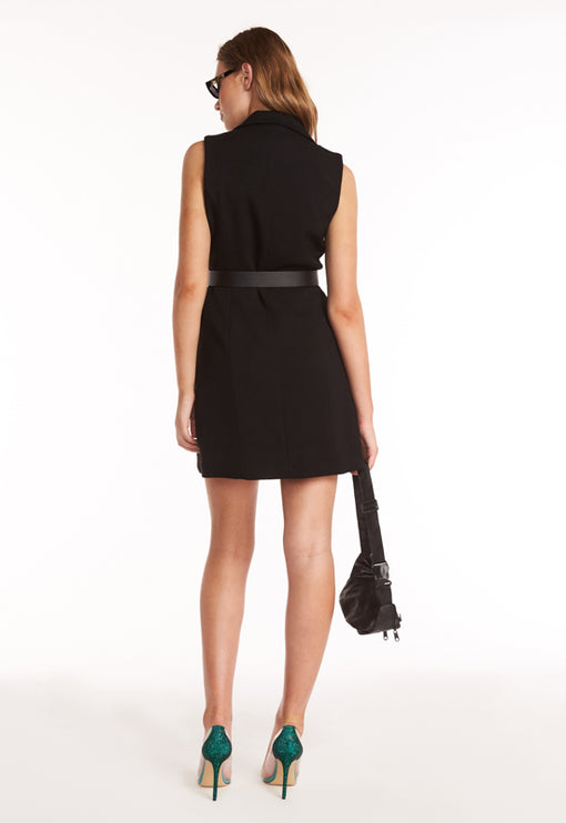 The Harrod Dress - BLACK