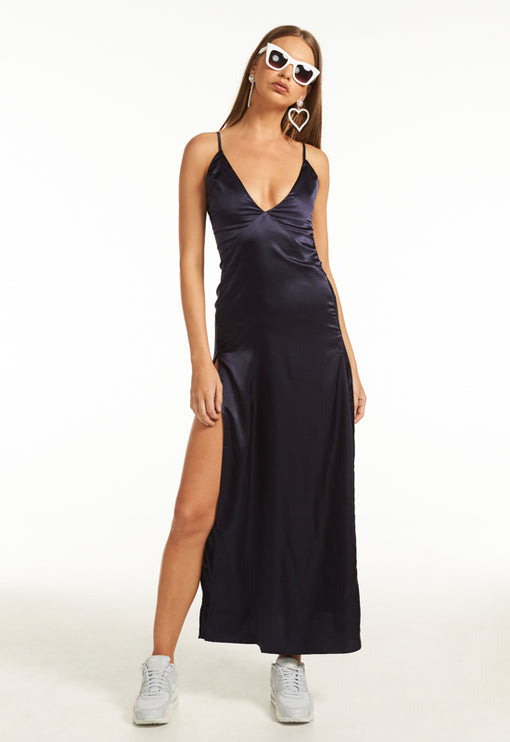 Soho Maxi Dress - NAVY