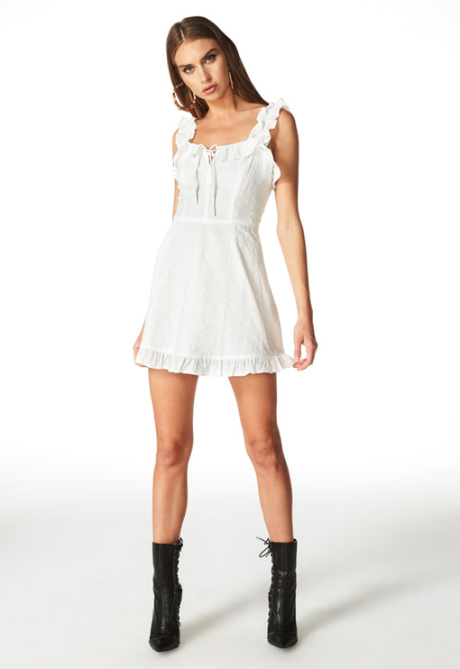 Hamptons Mini Dress - ANGLAISE