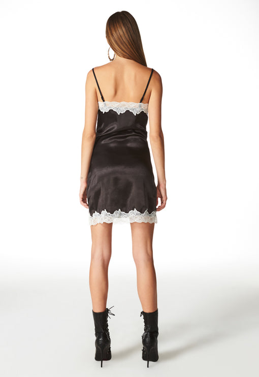 Siren Mini Dress - BLACK