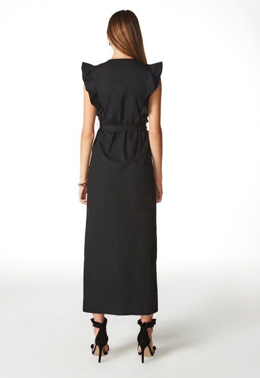 Delilah Maxi Dress - BLACK