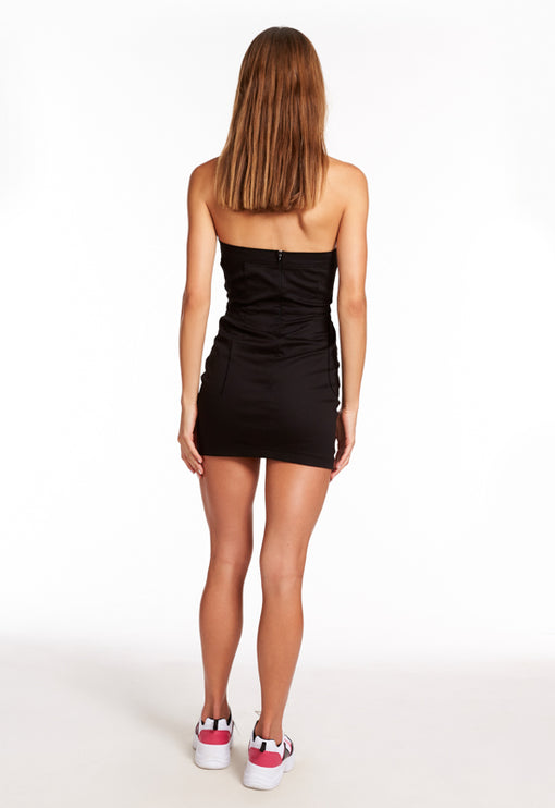 Old Flame Mini Dress - BLACK