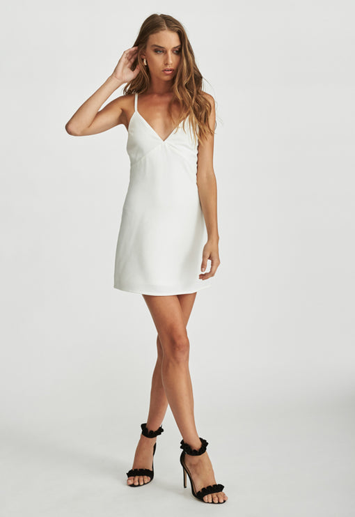 Tiny Dancer Dress - WHITE