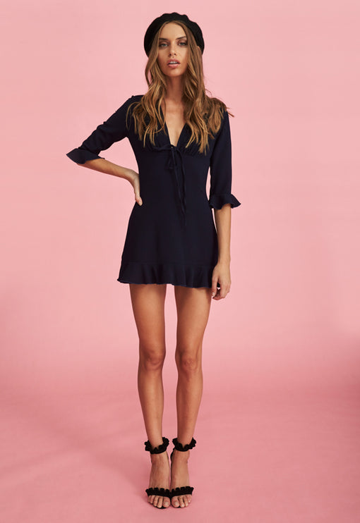 Pour Some Sugar Dress - NAVY