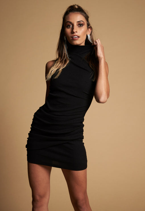 Flirtatious Love Dress - BLACK