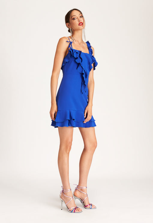 Pasadena Mini Dress - COBALT