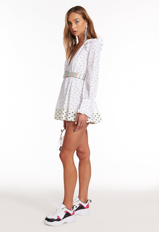 Jersey Girl Dress - WHITE
