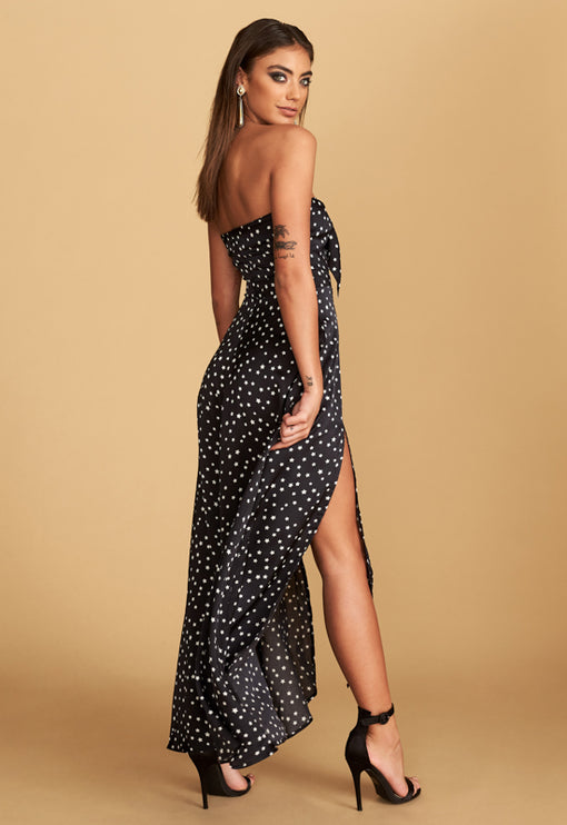 The Adrianne Strapless Maxi Dress - STAR